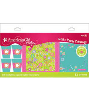 American Girl Doll Petite Party Settings