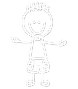 Plaid® Me&My Peeps Family Auto Decal-Toddler Boy