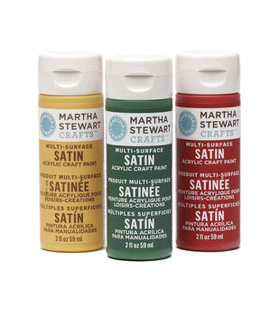 Martha Stewart Satin Acrylic Craft Paint 2 Ounces