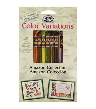 DMC Color Variations Floss Pack- Amazon 8/Pkg