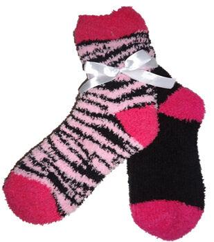 Zebra Dark Pink & Light Pink Black Tactilea