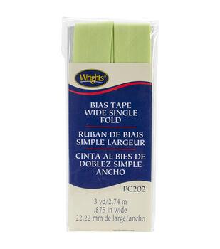 Wrights Single Fold Bias Tape-7/8''W x 3yds
