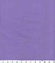 Keepsake Calico™ Cotton Fabric-Dots Purple With White, , hi-res
