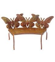 Fairy Garden Butterfly Copper Bench, , hi-res