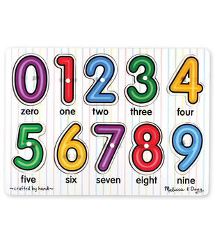 Melissa & Doug See-Inside Numbers Peg