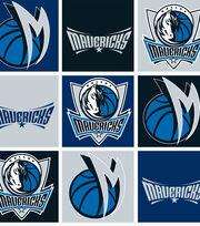 Dallas Mavericks NBA  Fleece Fabric, , hi-res