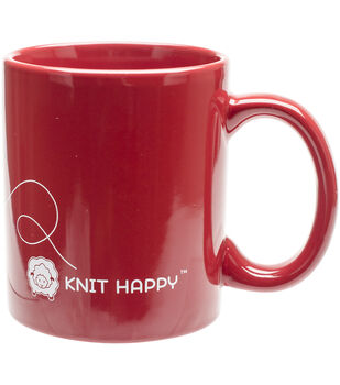 K1C2 God Family Knit Mug 12oz-Red