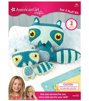 American Girl Crafts Raccoon Sew & Stuff Kit