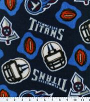 Tennessee Titans NFL Fleece Fabric by Fabric Traditions, , hi-res