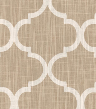 Home Decor  Print Fabric- Richloom Studio  Bravo Cream