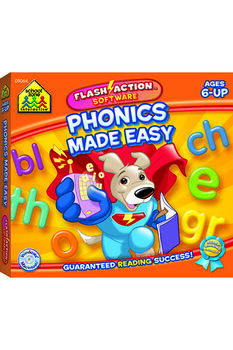 Flash Cards-Phonics Made Easy 54/Pkg