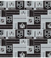Los Angeles Kings  NHL Block Fleece Fabric, , hi-res
