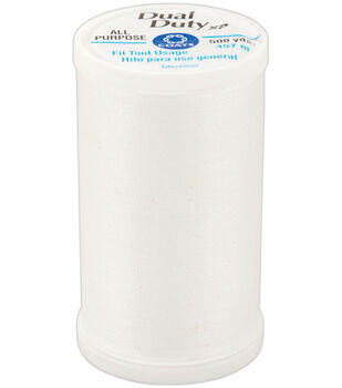 Coats & Clark Dual Duty XP General Purpose Thread White 500 Yards
