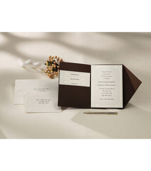 Wilton® Pocket Invitation Kit-Vintage Ivory