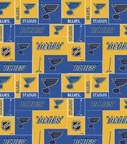St. Louis Blues NHL Block Cotton Fabric, , hi-res