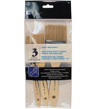Chip Brush Set 3/Pkg-
