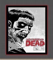 Walking Dead Zombie  48'' No Sew Fleece Throw Kit, , hi-res