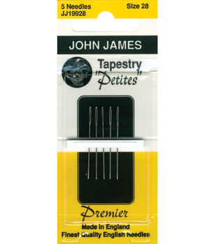John James Tapestry Petite Hand Needles Size 26