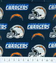 San Diego Chargers NFL Cotton Fabric by Fabric Traditions, , hi-res