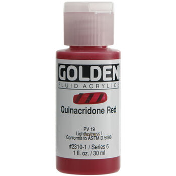 Golden Fluid Acrylic Paint 1oz