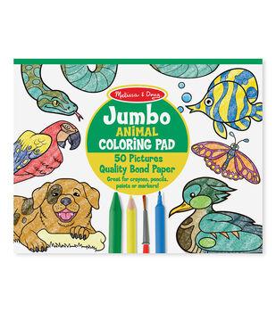 Melissa & Doug Jumbo Coloring Pad - Animal