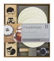 """Inkadinkado Stamping Kit 6""""X7""""-Tavern Coaster, , hi-res"""