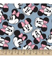 Disney® Minnie Head Toss Chambray Fabric, , hi-res