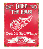 Detroit Redwings NHL Vintage Signs, , hi-res