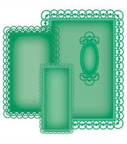 Spellbinders Nestabilities Card Creator Die Detailed Scallops, , hi-res