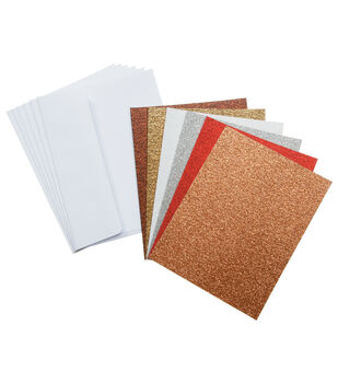Core'dinations Card/Envelopes:  A2  Glitter Assortment; 36 pack