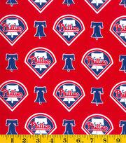 Philadelphia Phillies MLB Cotton Fabric, , hi-res