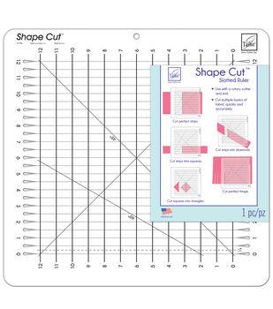 June Tailor Shape Cut Slotted Ruler