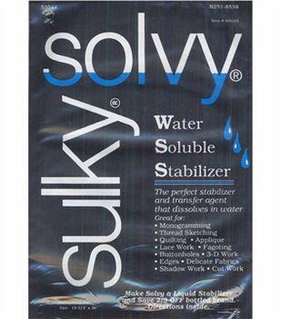 """Sulky Solvy Water Soluble Stabilizer-19-3/4""""W x 1yd"""