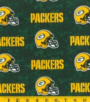 Green Bay Packers NFL Digital Cotton Fabric by Fabric Traditions, , hi-res