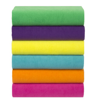 Anti Pill Fleece Fabric Solids