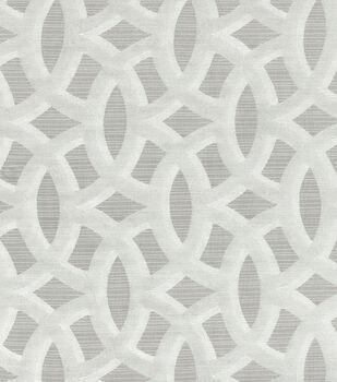 HGTV Home Upholstery Fabric-Barbara Platnium