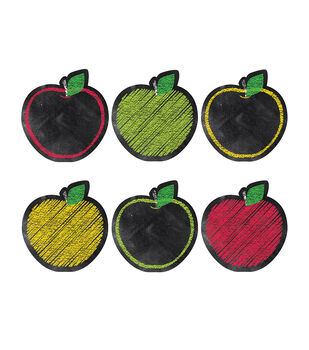 "Chalk It Up! Apples 6"" Cut-Outs"