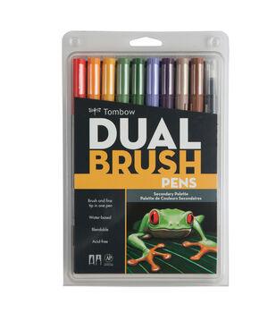 Tombow Dual Brush Pen Set-10PK/Secondary