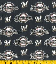 Milwaukee Brewers MLB Cotton Fabric, , hi-res