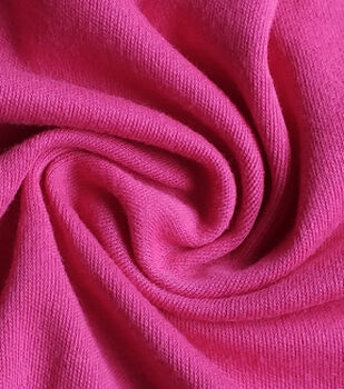 Juvenile Apparel Fabric-Pink Interlock