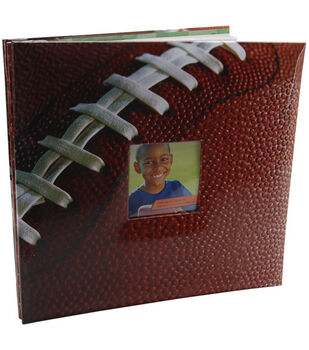 "Football 12""x12"" Postbound Album"