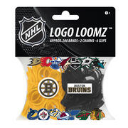 Forever Collectibles Logo Loomz Filler Pack Boston Bruins, , hi-res