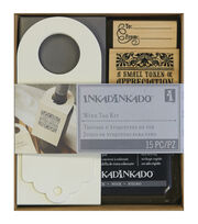"Inkadinkado Stamping Kit 6""X7""-Wine Bottle Tag, , hi-res"