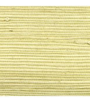 Yamei Beige Grasscloth Wallpaper