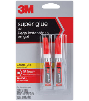 3M Super Glue Gel 2 pcs