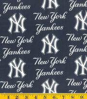 New York Yankees MLB Allover Cotton Fabric, , hi-res
