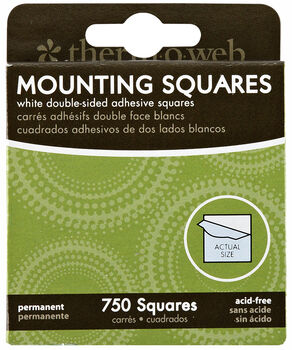 Mounting Squares 750 count boxes can be used for Paper & Photo's. Strong Adhesive, Dispensing Box