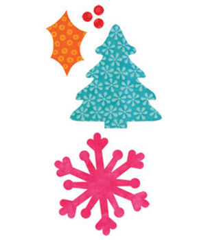 AccuQuilt Go! Fabric Cutting Die Holiday Medley