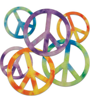Stick It Felt Shapes 24PKg-Peace Signs