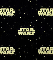 Star Wars™ Metallic Logo Cotton Fabric, , hi-res